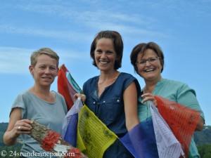 Das Orga-Team: Elisabeth, Michaela und Sylvia (v.l.)