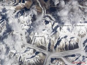Die Achttausender im Karakorum