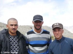 Ahmad, Agbar, Muhammad (v.l.)