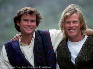 Alex Lowe (l., 1995 mit Conrad Anker)