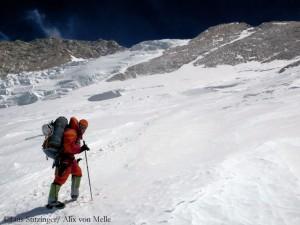 Alix 2010 im Gipfelbereich