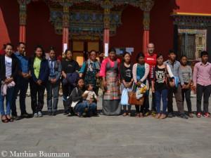 Treffen mit Sherpa-Familien in Kathmandu