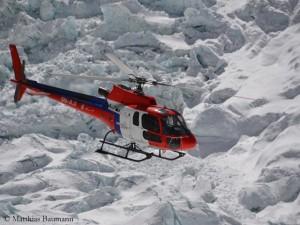 Wie viel Heli darf sein am Everest?