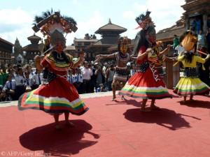 Feier in Bhaktapur