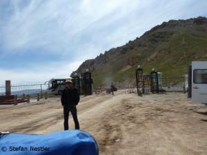Verbotenes Bild: die chinesischen Grenze