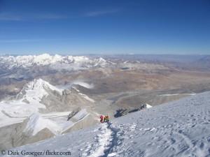 Auf dem Cho Oyu (8188 Meter)