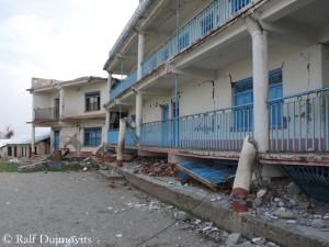 Schule in Thulosirubari: Parterre zusammengesackt