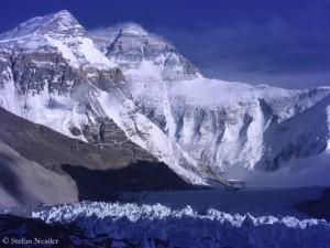 Tibetische Nordseite des Everest