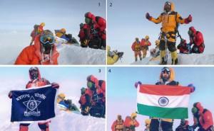 Original (1,2) und Fälschung (3,4) (© The Himalayan Times)