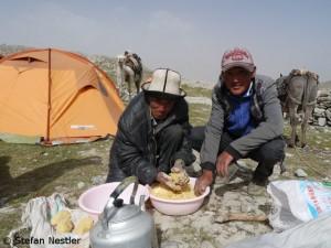 Futter für die Kamele