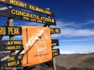 Training auf dem Kilimandscharo