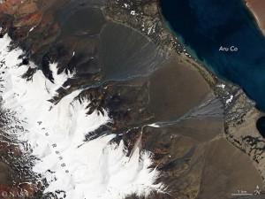 Vor dem Gletscherabbruch