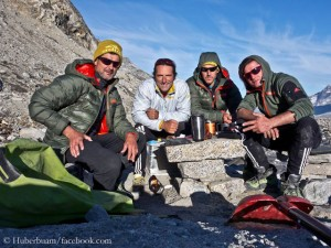 Erfolgreiches Team: Schneider, Huber, Zenz, Walder (v.l.)