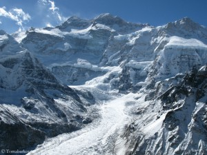 Nordwand des Kangchendzönga