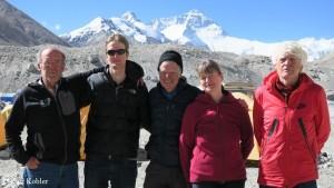 Kari Kobler (l.) mit seinem Team