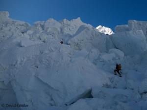 Gefährlicher Eisbruch