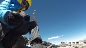 Kilian Jornet auf dem Aconcagua (© summitsofmylife.com)