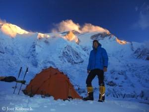 Jost Kobusch an der Annapurna