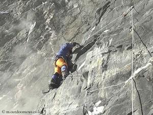 Sung in der Lhotse-Südwand