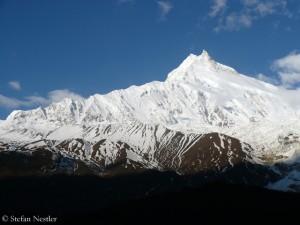 Der Manaslu (8163 Meter) in Nepal