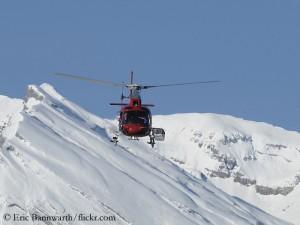 Rettungseinsatz der Air Zermatt