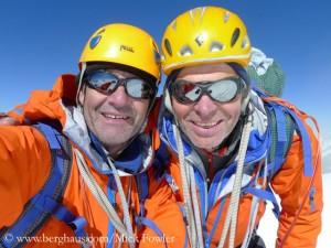 Mick (r.) und Paul Ramsden