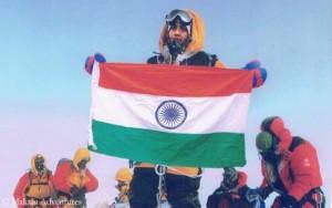 Vorgelegtes Gipfelfoto von Tarakeshwari Rathod