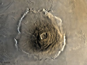 Olympus Mons, Mars-Bergriese