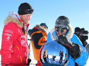 Mission erfolgreich: Harry am Südpol