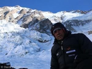 Ralf im Januar 2014 am Nanga Parbat