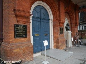 Die Royal Geographical Society in London