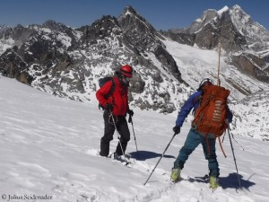 Skikurs in Nepal