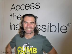 Thomas Huber auf der ISPO