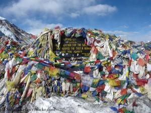 Thorong La, höchster Punkt der Annapurna-Runde