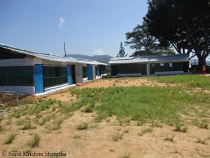 Provisorische Schulräume