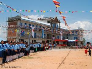 Einweihung der Schule 2009