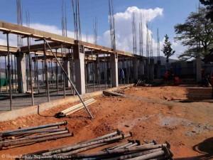 Schulgebäude nimmt Gestalt an