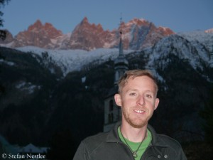 Tommy Caldwell in Chamonix
