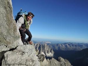 "Ueli während seines ""82 Summits""-Projekts"