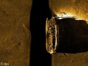 Schiffswrack der Franklin-Expedition