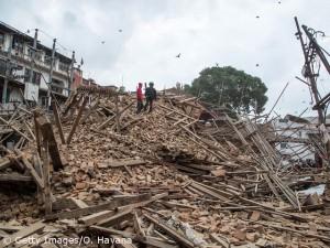 Kathmandu am Tag danach