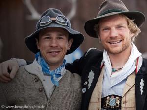 Beste Freunde: Basti (l.) und Bene