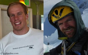 Kyle Dempster (l.) und Scott Adamson