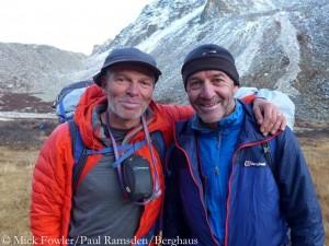 Mick Fowler (l.) und Paul Ramsden