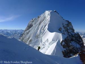 Auf dem Gipfelgrat des Hagshu