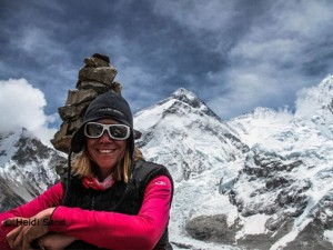 Heidi Sand (2012 am Everest)