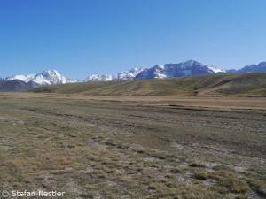 Fahrt durch Kirgistan
