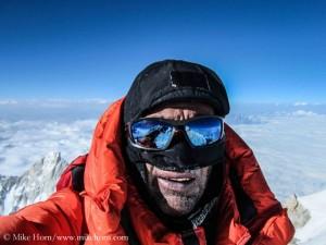 Mike auf dem Gipfel des Makalu