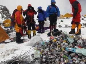 Müll am Südsattel