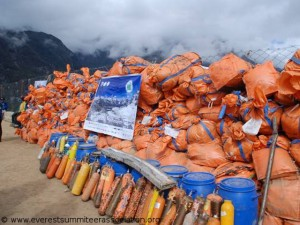 Müllsammlung, Sammelmüll